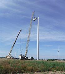 Sommette Wind Farm France