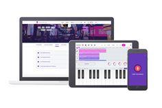 Soundtrap works across multiple devices