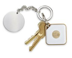 Tile Style Bluetooth Tracker on keys