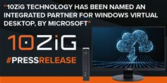 10ZiG, integrated partner provider for Windows Virtual Desktop by Microsoft