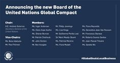 New Board of the United Nations Global Compact