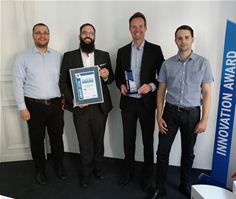 Presentation of the Innovation Award to Secucloud