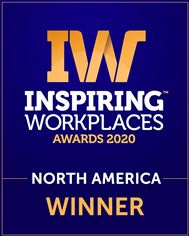 Inspiring Workplaces Awards 2020 North America Winner