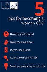 Women CEOs Infographic