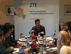 Mr. Xiao Ming, SVP of ZTE Corporation, at BBWF