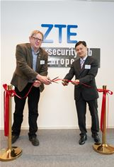 ZTE opens Cybersecurity lab in Brussels