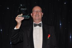 Ian Kilpatrick, chairman Wick Hill Group holding 'Security Distributor of the Year' award