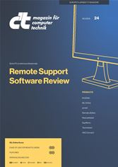 Professionals at c't have tested eight remote desktop products: AnyDesk, ISL Online, pcvisit, Remote Utilities, RescueAssist, SupRemo, Teamviewer and VNC Connect.