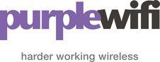 Purple WiFi logo