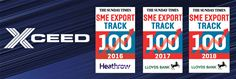 Xceed's SME Export Track 100 achievements