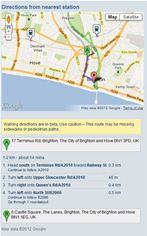 thetrainline.com map widget
