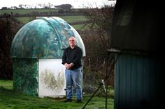 Dr Grant Mackintosh at Tolcarn Observatory