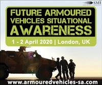 Registration Opens for Future Armoured Vehicles Situational Awareness 2020 in London