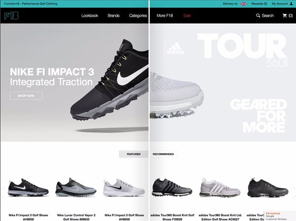 856d55aa1628 New AI-based ecommerce personalisation tech helps golf retailer increase  online order values by 18%