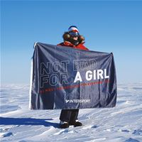 WORLD RECORD: German INTERSPORT athlete Anja Blacha is the first human being to reach the south pole solo in 57 days 18 hours and 50 minutes - and sets a new record in extreme sports with her pioneeri