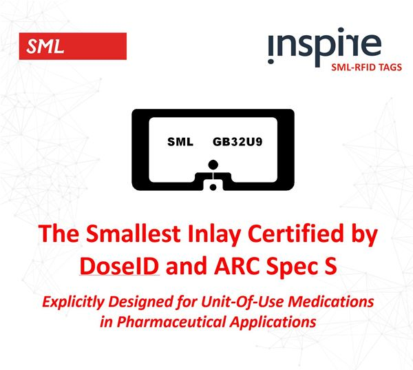 SML RFID Launches High Performance GB32U9, Designed Specifically for Accurate Tracking of Pharmaceutical Items