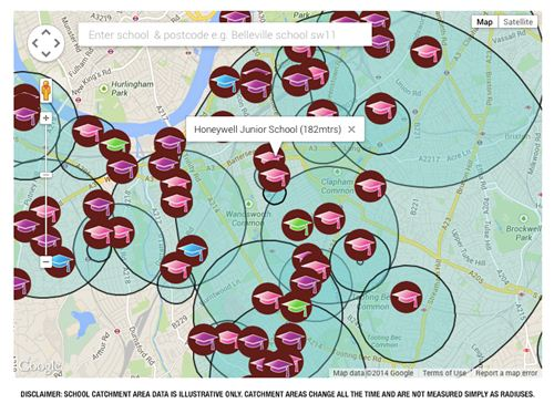 SW London parents can now search properties by school catchment area thanks to online mums community, NappyValleyNet.com