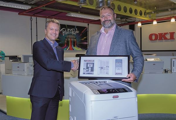 OKI Europe's C800 Series Wins Print IT Reseller's Editor's Choice Award