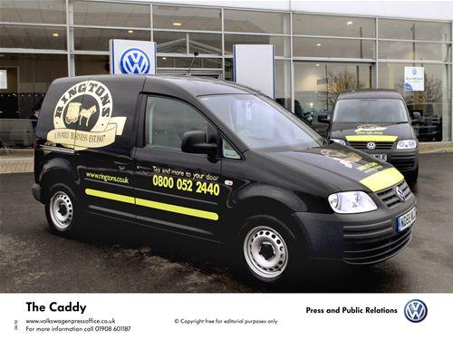 volkswagen tea caddy fleet serves up a refreshing home delivery service. Black Bedroom Furniture Sets. Home Design Ideas