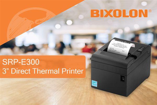 BIXOLON Co. Ltd | BIXOLON Launches the Cost-Effective SRP-E300 POS Printer Exclusively To the European Market