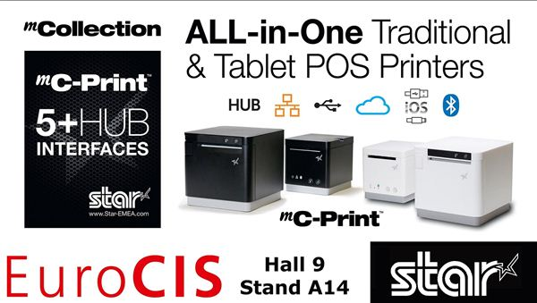 Star Micronics launches unique POS receipt printers with 5