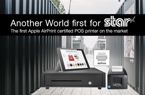 Star Micronics displays first Apple Certified AirPrint™ POS Printer at NRF  2018, New York City
