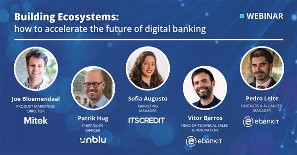 ebankIT promotes a webinar on the future of banks