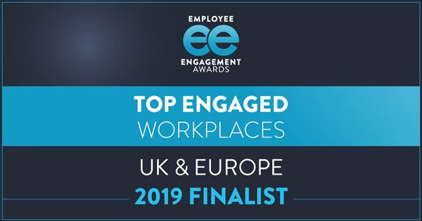 Finalists announced for the 2019 UK & European Top Engaged Workplaces