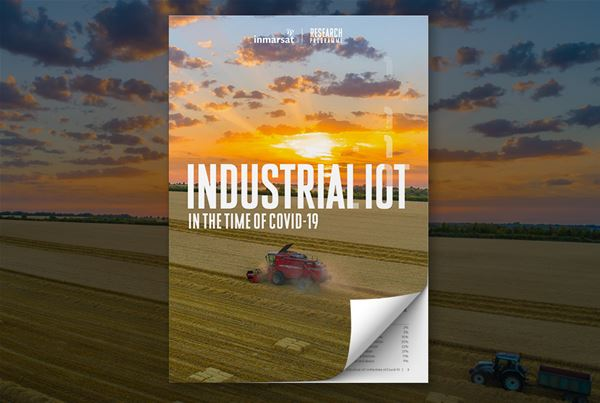 Global industry accelerating IoT adoption in response to Covid-19, new Inmarsat research reveals