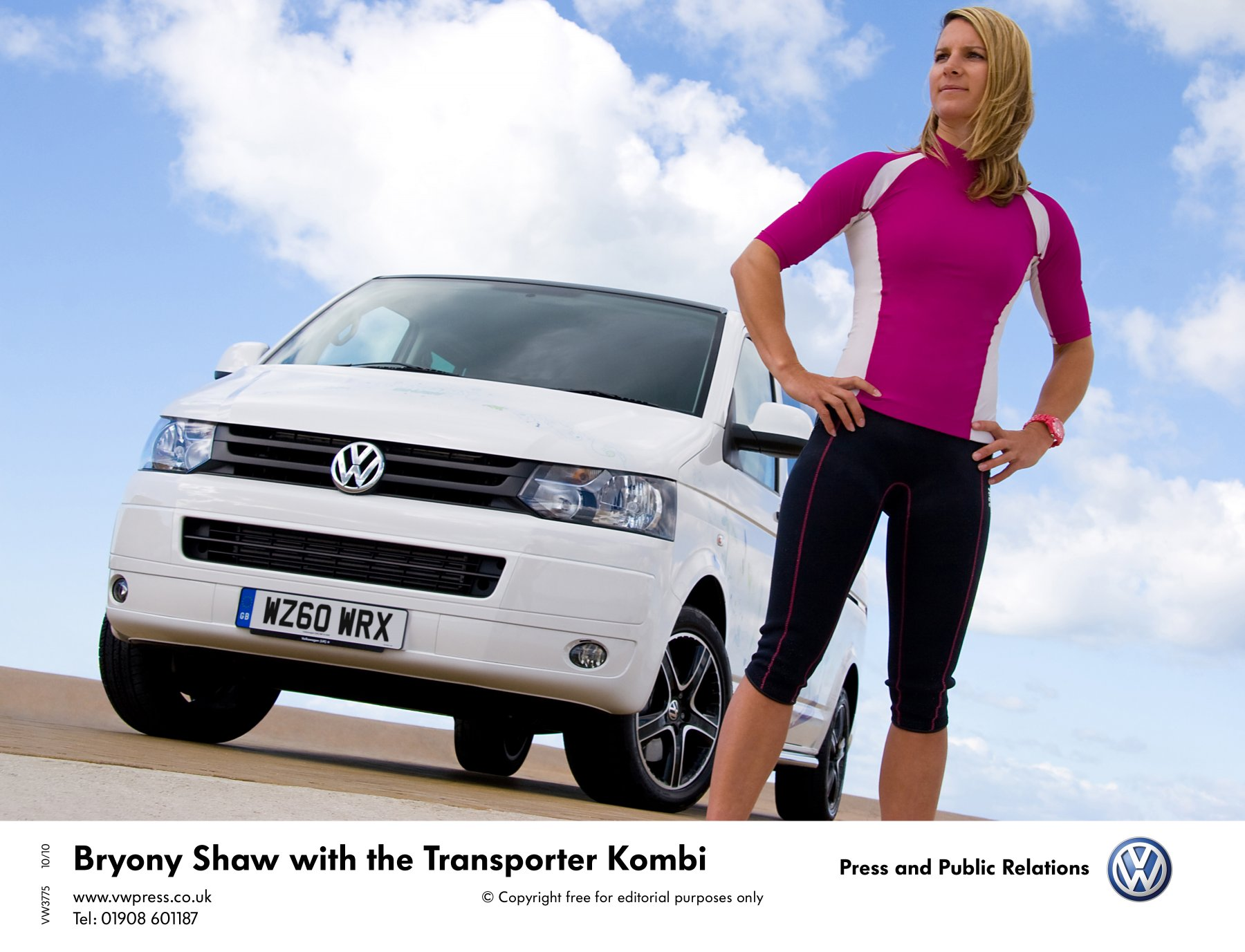 Bryony Shaw And The Vw Transporter Kombi Realwire