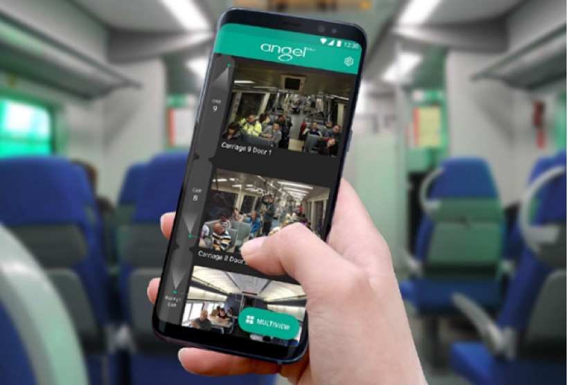 Angel Trains Live Streaming CCTV Application | RealWire