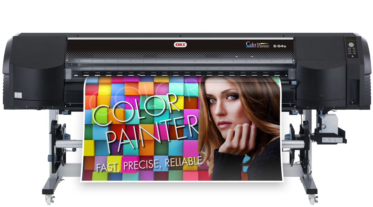 OKI launches E-64s – new addition to the ColorPainter Premium Family
