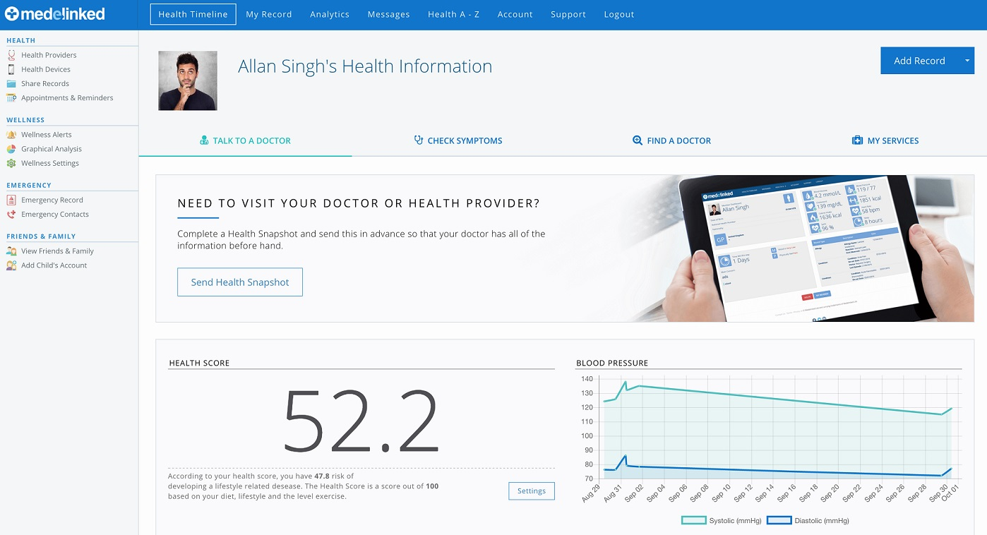 Medelinked Open Health Platform Now Features Medelinked Health Score