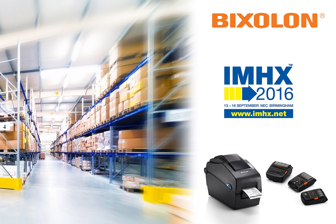 Explore the Latest in Cutting Edge Logistics Printing Innovation with BIXOLON at IMHX 2016