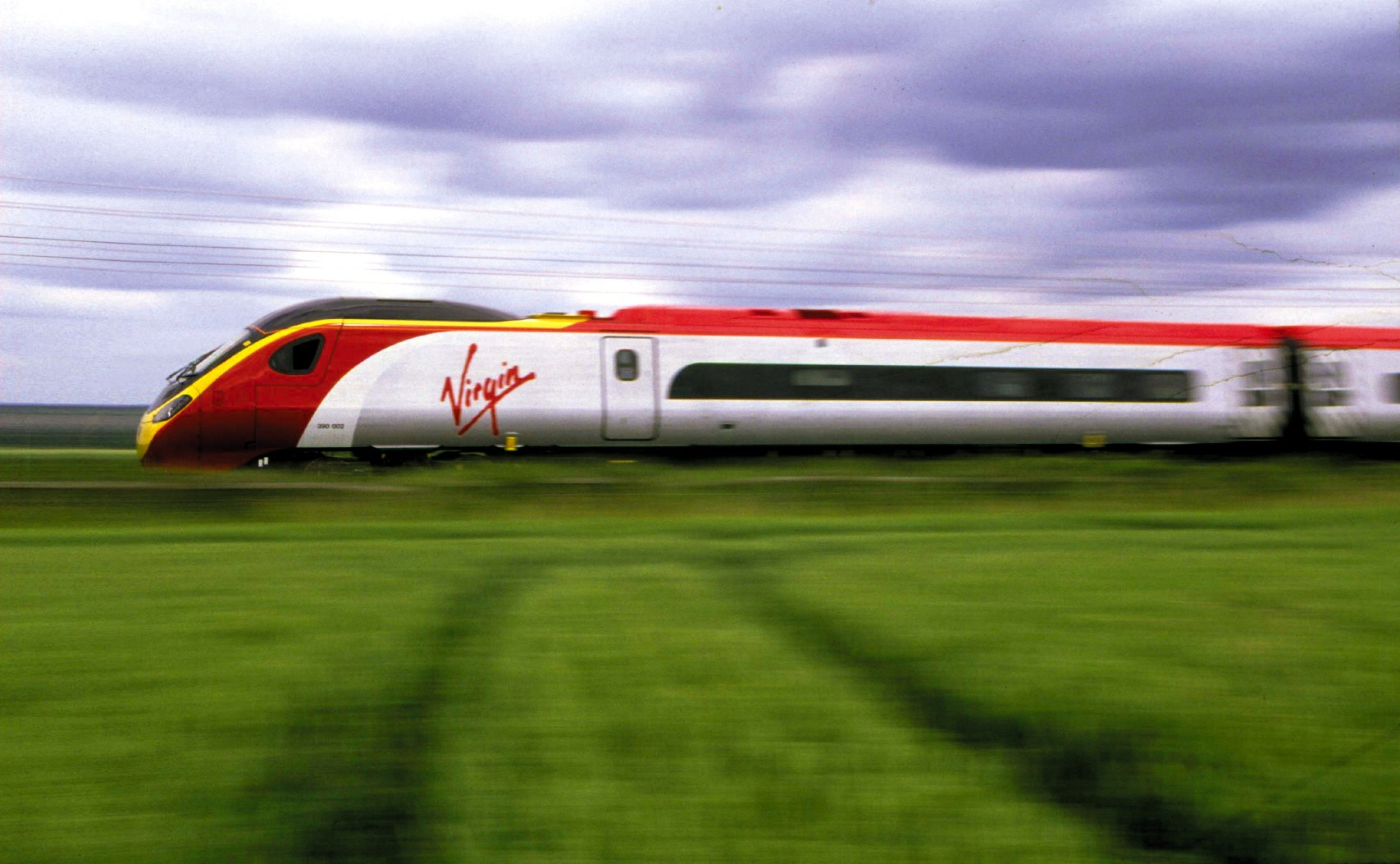 Virgin Pendolino Train Realwire Realresource