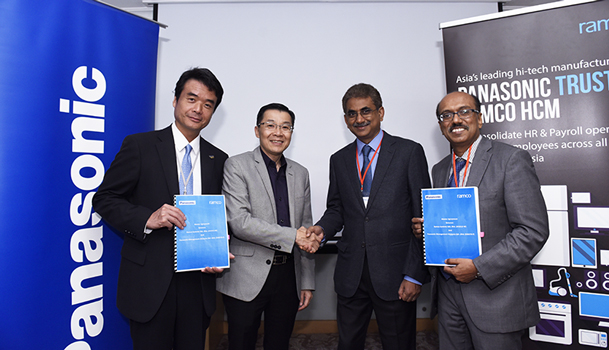 Ramco Systems signs multi-million dollar Cloud HR & Payroll transformation deal with Panasonic Group of companies in Malaysia