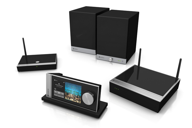 raumfeld multi room audio system two room option realwire realresource. Black Bedroom Furniture Sets. Home Design Ideas