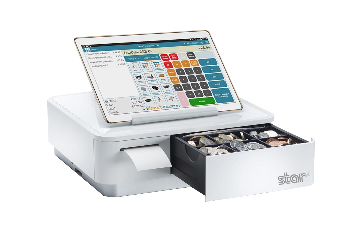 Smart Volution Integrates Tablet Cash Register Epos With