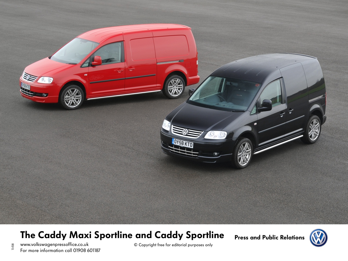 The Caddy Maxi Sportline and Caddy Sportline | RealWire RealResource
