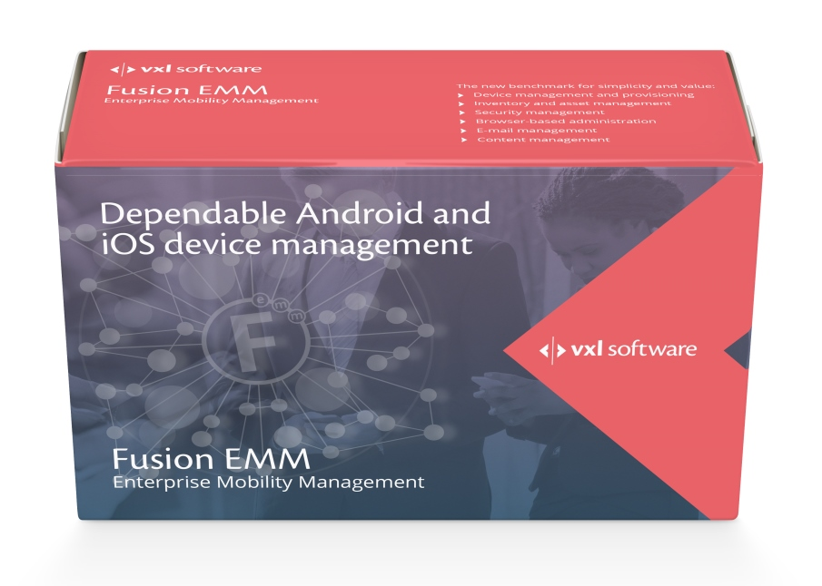 VXL Software's new Fusion EMM (Enterprise Mobility Management) agent now supports the latest Android Nougat (7.0) OS