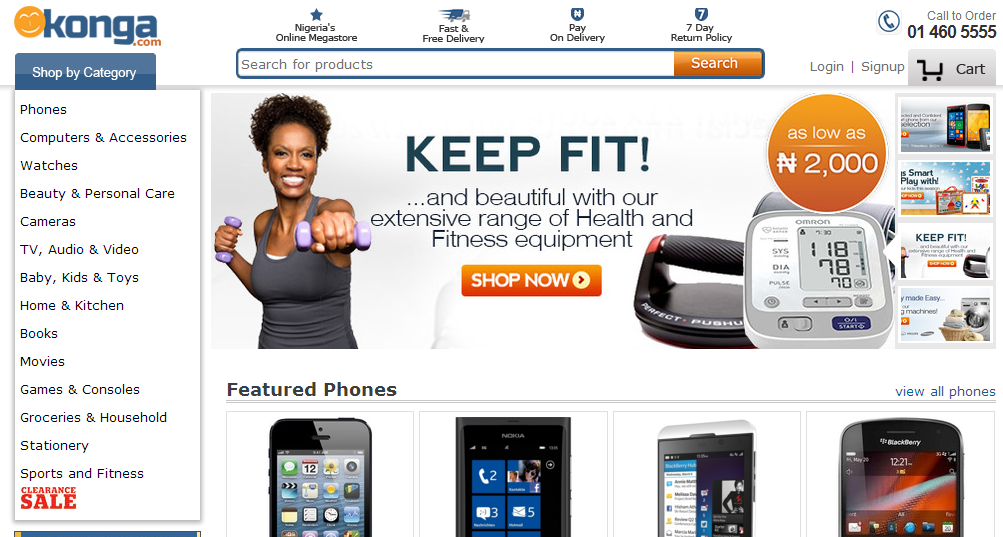 Konga website realwire realresource for Us websites for online shopping