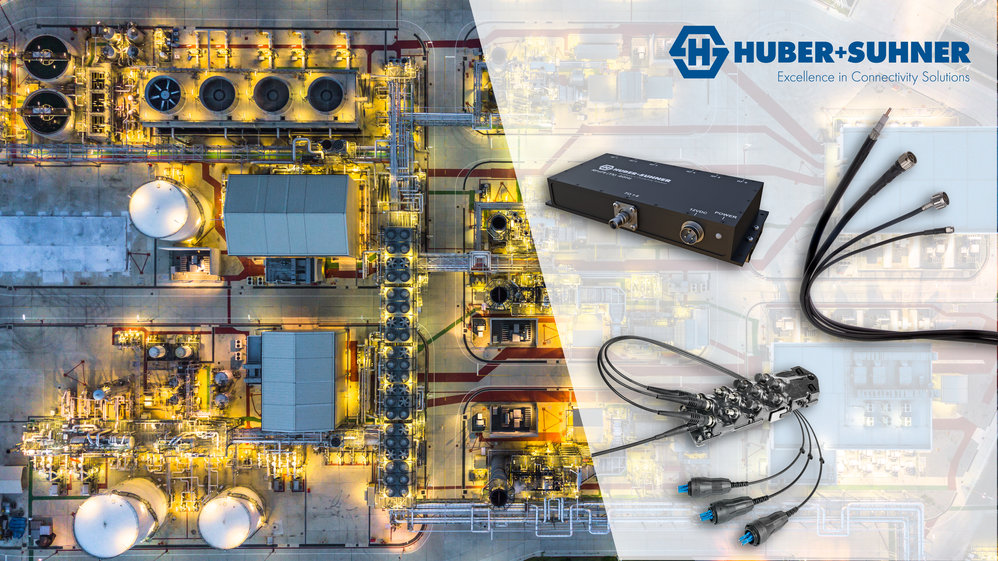 HUBER+SUHNER präsentiert an der SPS IPC Drives 2018 die neusten Infrastrukturlösungen für die Industrie von morgen