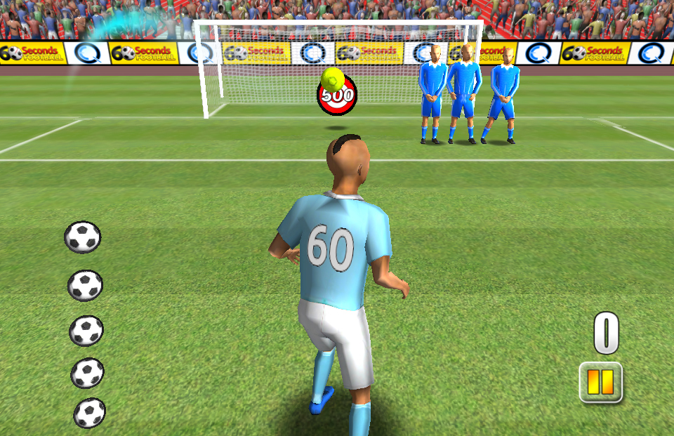 and iPad, 60 Seconds Football is a brand new take on football games